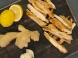 Пилешки гърди със соев сос и джинджифил